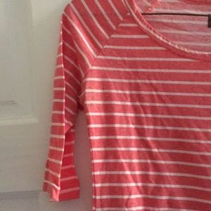 BDG Tops - Red and white stripe top from BDG